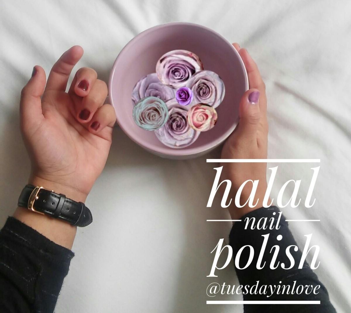 Halal Nail Polish: Tuesday In Love